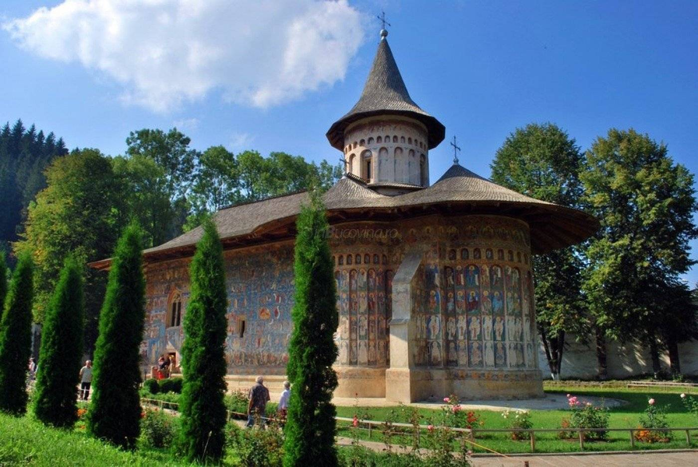 Touristic circuit of Monasteries in Moldavia